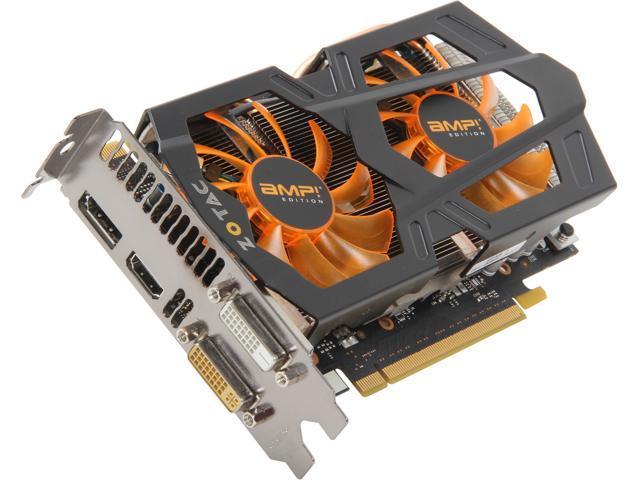 ZOTAC GeForce GTX 660 AMP! Edition DirectX 11 ZT-60902-10M Video Card