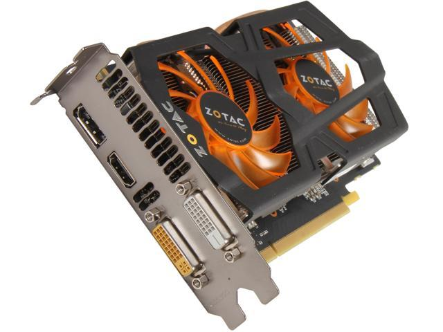 ZOTAC GeForce GTX 650 Ti BOOST DirectX 11.1 ZT-61201-10M 2GB 192-Bit GDDR5 PCI Express 3.0 x16 HDCP Ready Video Card
