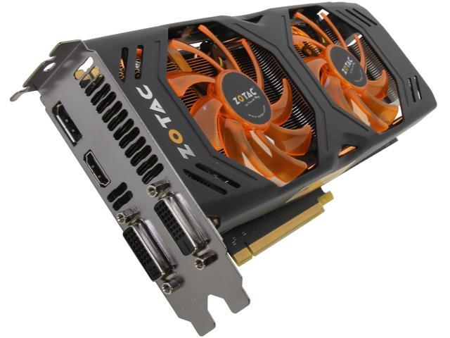 ZOTAC ZT-70301-10P G-SYNC Support GeForce GTX 770 2GB 256-Bit GDDR5 PCI Express 3.0 Video Card
