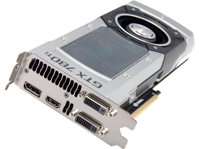 ZOTAC GTX 700 GeForce GTX 780 Ti DirectX 11.2 (feature level 11_0) ZT-70502-10P 3GB 384-Bit GDDR5 PCI Express 3.0 HDCP Ready SLI Support Plug-in Card Video Card