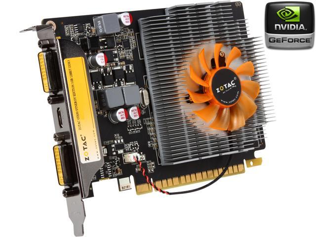 ZOTAC Synergy Edition GeForce GT 630 DirectX 11 ZT-60412-10L Video Card