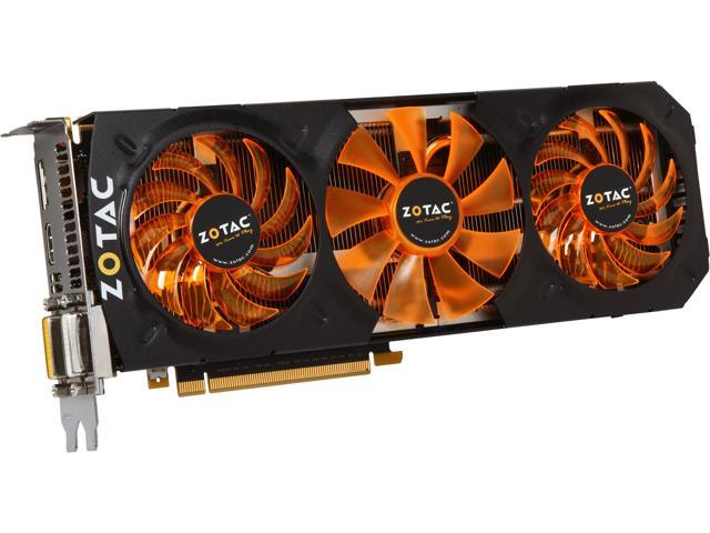 ZOTAC ZT-70205-10P G-SYNC Support GeForce GTX 780 OC 3GB 384-bit GDDR5 PCI Express 3.0 x16 SLI Support Video Card - Retail