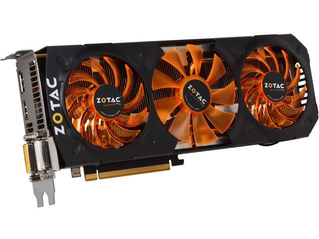 ZOTAC GeForce GTX 780 Ti DirectX 11.2 (feature level 11_0) ZT-70506-10P Video Card