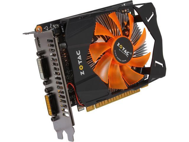 ZOTAC GeForce GTX 750 DirectX 11.2 ZT-70701-10M Video Card
