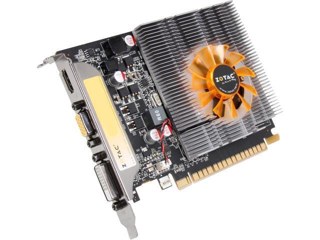 ZOTAC GT 700 GeForce GT 740 DirectX 12 (feature level 11_0) ZT-71004-10L 2GB 128-Bit GDDR5 PCI Express 3.0 x16 Plug-in Card Video Card