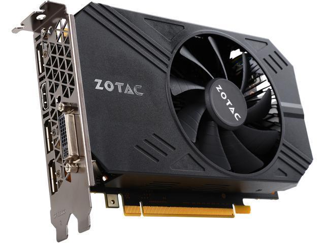 ZOTAC GeForce GTX 960 ZT-90310-10M 2GB 128-Bit GDDR5 PCI Express 3.0 SLI Support Video Card