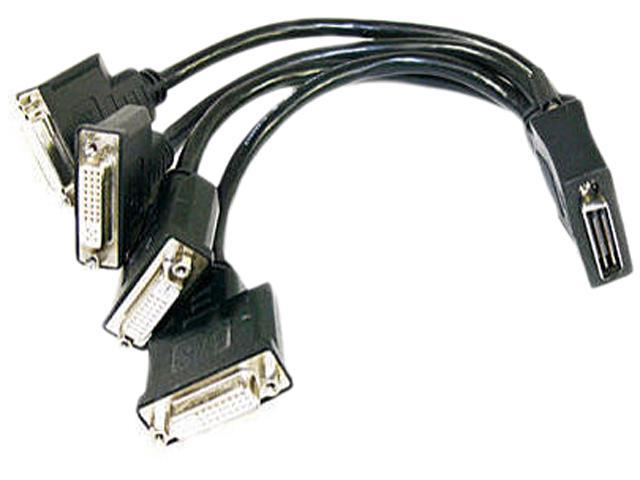 matrox CAB-KX20-4XDF KX20-to-DVI quad-monitor adapter cable