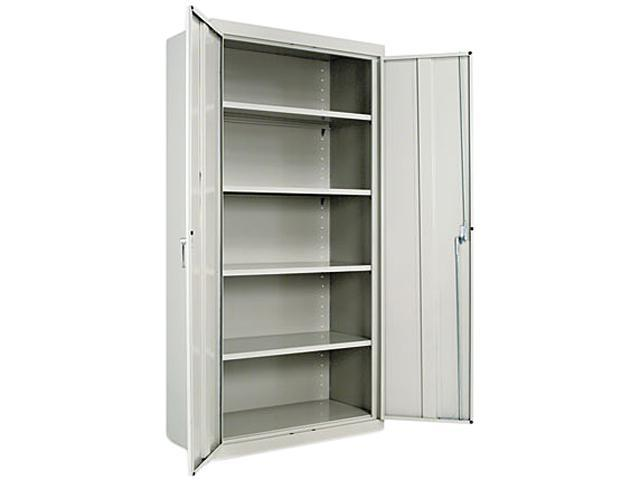 "Alera ALE82107 Assembled 72"" High Storage Cabinet, w/Adjustable Shelves, 36w x 18d, Light Gray"