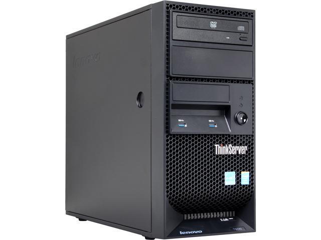 Lenovo ThinkServer TS140 Tower Server Workstation i3-4150 3.5 GHz 4GB DDR3 SDRAM 70A40037UX