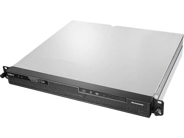 Lenovo ThinkServer RS140 Rack Server System Intel Xeon E3-1226 v3 3.30 GHz 4GB DDR3 70F9001NUX