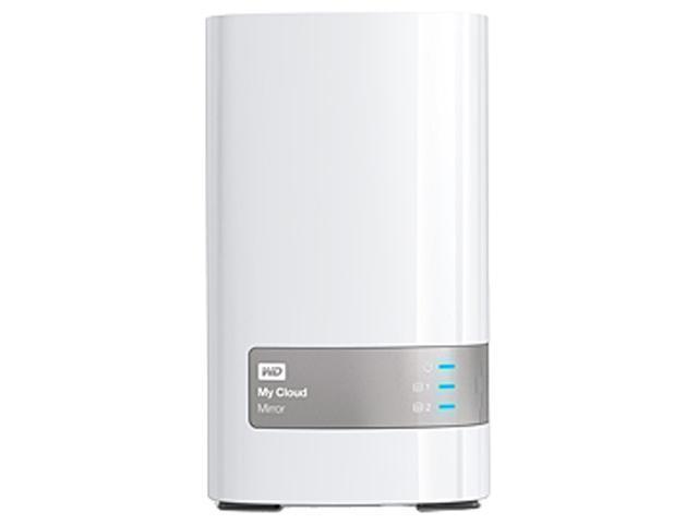 WD My Cloud Mirror 8TB Personal Cloud Storage WDBWVZ0080JWT-NESN White
