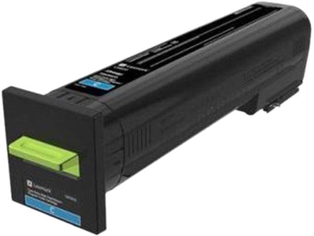 LEXMARK 82K1HC0 CX820 High Yield Return Program Toner Cartridge Cyan
