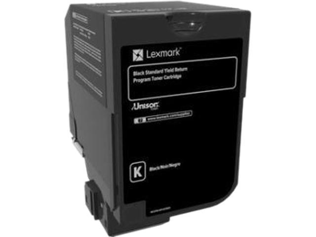 LEXMARK 74C1SK0 CS720, CS725, CX725 Black Standard Yield Return Program Toner Cartridge Black