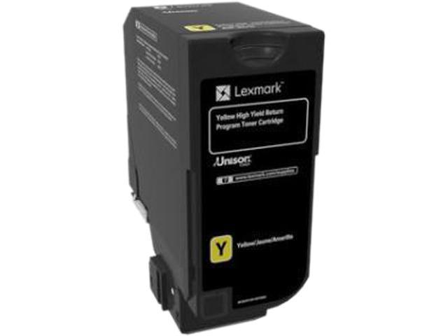 LEXMARK 84C1HY0 CX725 High Yield Return Program Toner Cartridge Yellow