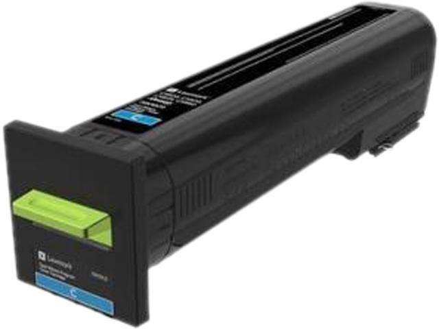 LEXMARK 72K10C0 CS820, CX820, CX825, CX860 Cyan Return Program Toner Cartridge Cyan