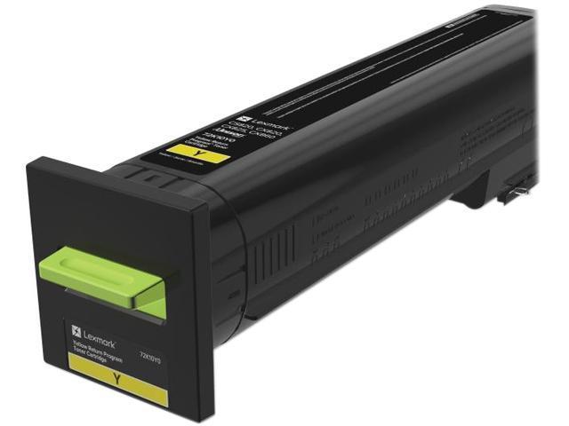 LEXMARK 72K10Y0 CS820, CX820, CX825, CX860 Return Program Toner Cartridge Yellow