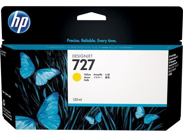 HP 727 (F9J78A) Ink Cartridge; Yellow
