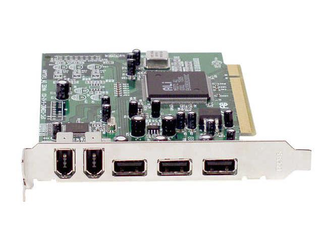 IOGEAR Hi-Speed USB 2.0 / FireWire Combo PCI Card Model GUF320