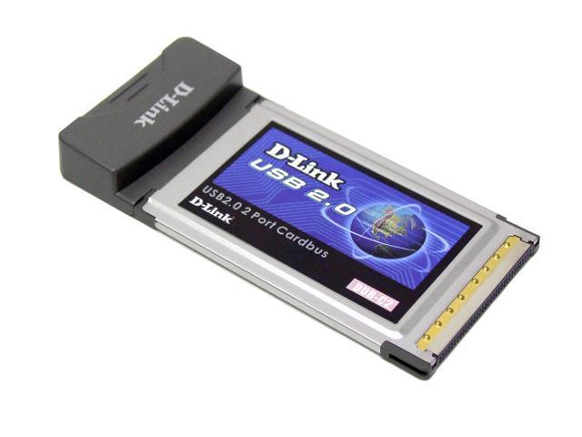D-Link DUB-C2 USB PCMCIA Card 2 x USB 2.0