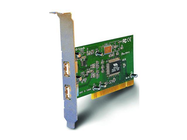 D-Link 2-Port USB 1.1 PCI Adapter Model DSB-500
