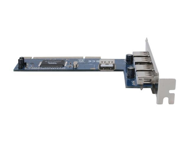 Zonet 4+1Port USB2.0 PCI Card(VIA Chipset) Model ZUH2215V