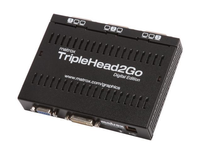 Matrox Graphics eXpansion Module TipleHead2Go Digital video converter T2G-D3D-IF