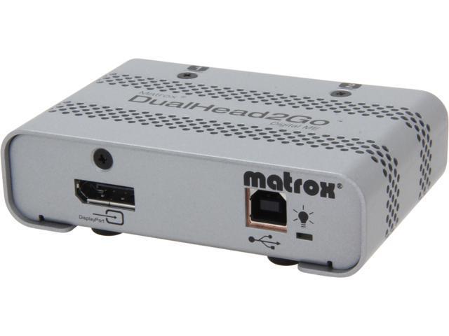 Matrox Graphics eXpansion Module DualHead2Go Digital ME video converter D2G-DP2D-MIF