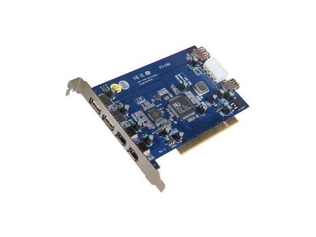 BELKIN 3-Port Hi-Speed USB 2.0 and 3-Port FireWire PCI Card Model F5U508v1