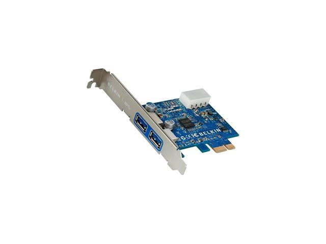 BELKIN 2 PORT USB 3.0 PCIE Card Model F4U023
