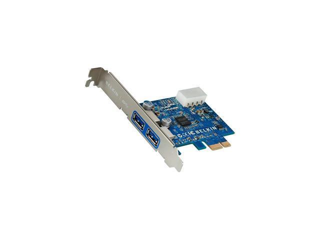 BELKIN 2-port PCI Express USB Adapter Model F4U023B
