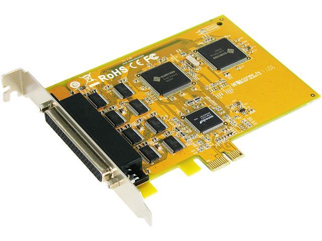 SUNIX 8-Port RS-232 Serial PCI-E Card Model SER5466A