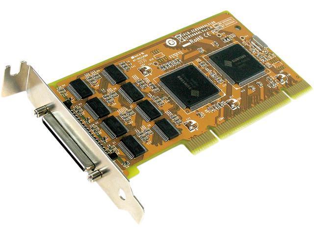 SUNIX 8-port RS-232 Universal PCI Low Profile Serial Board Model SER5066AL
