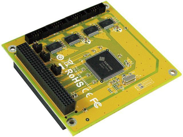SUNIX 4-port RS-232 PCI/104 Module Board Model SER5356A