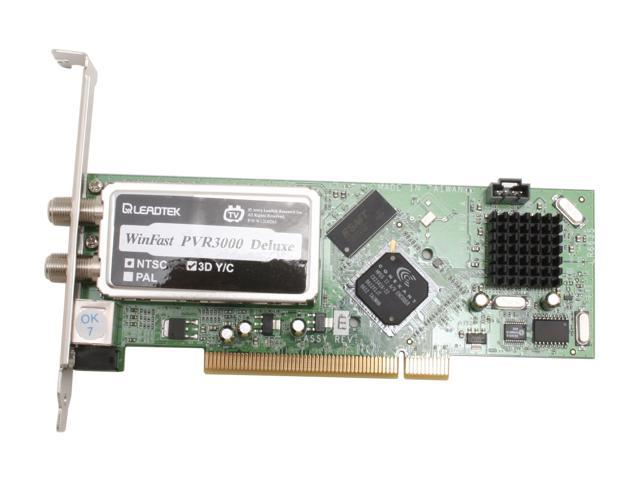 Leadtek Video Device WinFast PVR3000 Deluxe PCI Interface