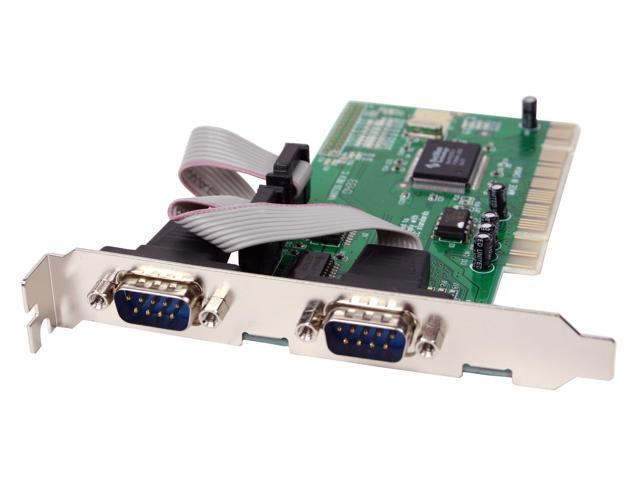 SYBA PCI to Serial 2-port host controller card Model SD-PCI-2S
