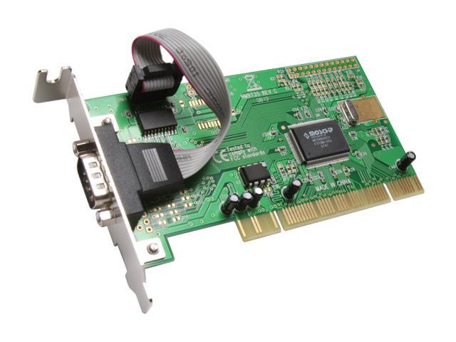 SYBA PCI Lower Profile Single Port Serial Card Model SD-LP-MCS1S