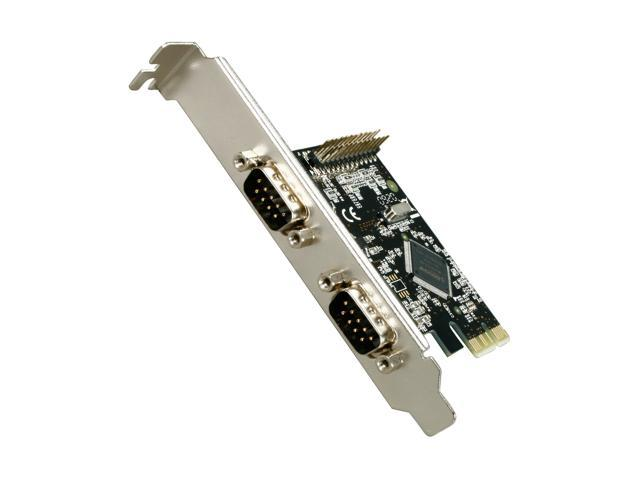 SYBA PCI-Express 2-Port Serial and 1-Port Parallel Combo Card - RoHS Model SD-PEX50030