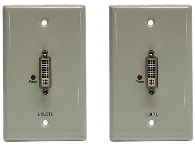 Tripp Lite DVI over Cat5 Passive Extender Wallplate Kit B140-101-WP
