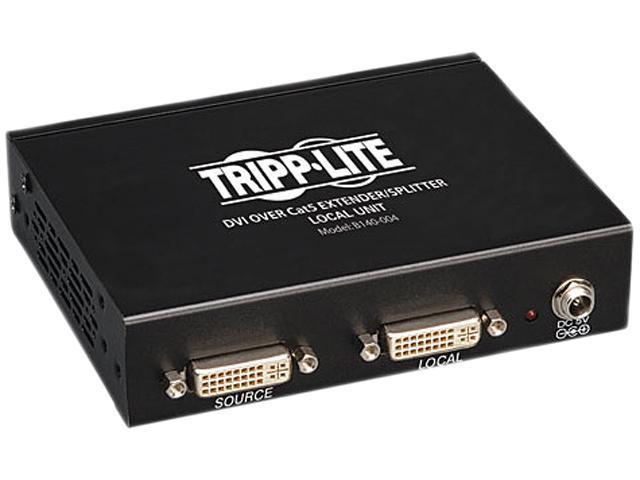 Tripp Lite DVI over Cat5 Extender/Splitter, 4-Port B140-004