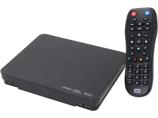 Western Digital WDBABZ5000ABK-NESN 500GB WD TV Live Hub Media Center