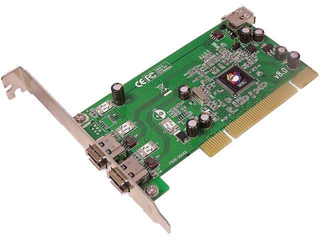 SIIG 1394 3-port PCI Card Model NN-440012-S8