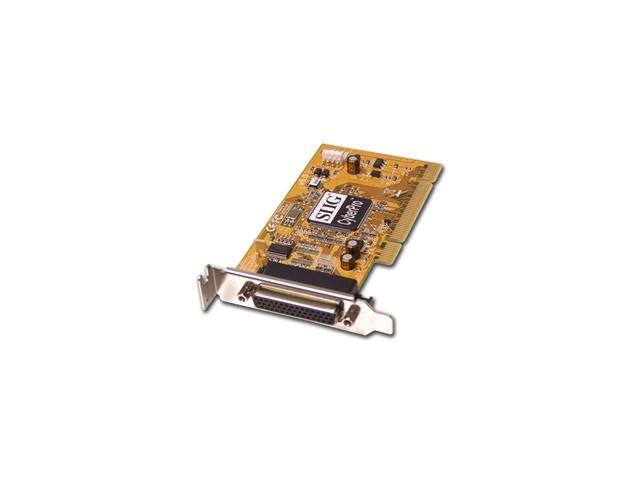 SIIG ECP/EPP 1-Port Universal PCI Low Profile Parallel Card Model LP-P01011-S6