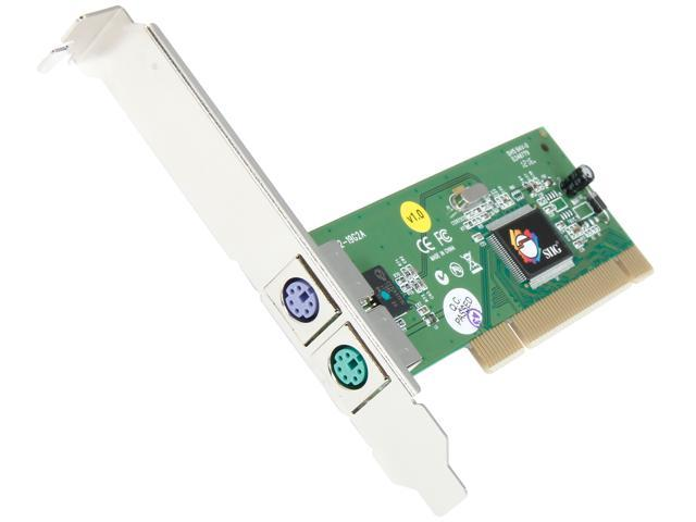 SIIG PCI to PS/2 Card Model JJ-PA0012-S1