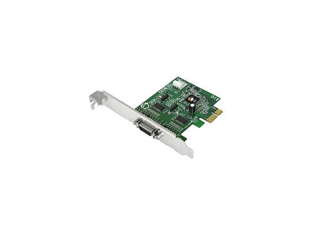 SIIG DP CyberSerial Dual PCIe Model JJ-E20011-S3