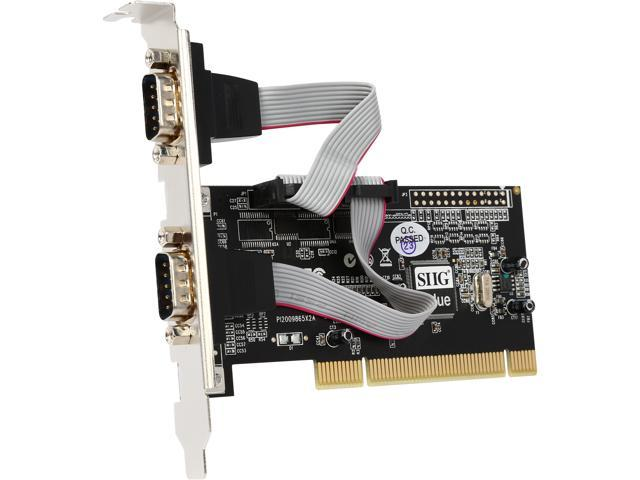 SIIG 2-Port 9-pin Serial Ports PCI Card Model JJ-P20511-S3