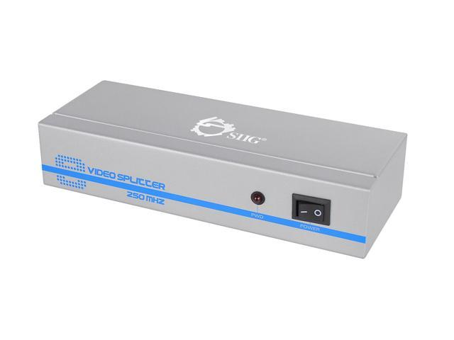 SIIG CE-VG0E11-S1 1x8 VGA Splitter
