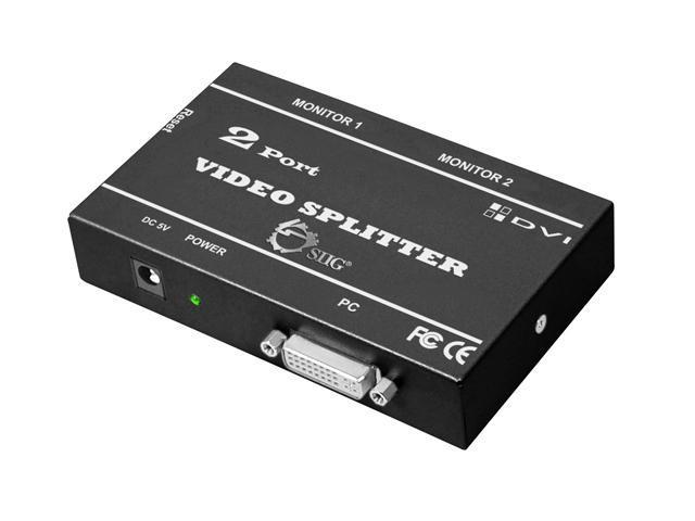 SIIG CE-D20311-S1 1x2 DVI Splitter