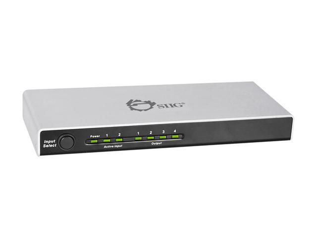 SIIG HDMI 2x4 Splitter CE-H20Q11-S1