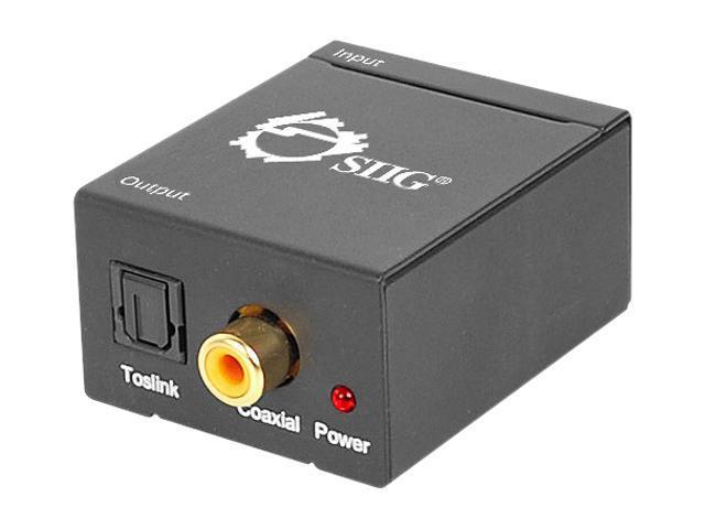 SIIG Analog to Digital Audio Converter CE-CV0111-S1 - OEM