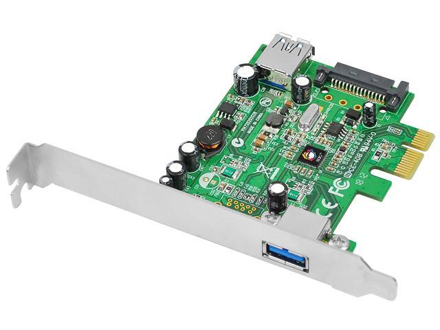 SIIG DP 2-Port USB 3.0 PCIe i/e Model JU-P20712-S1